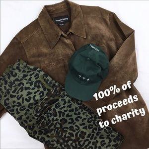 NONPROFIT Vintage Suede Pieced Jacket